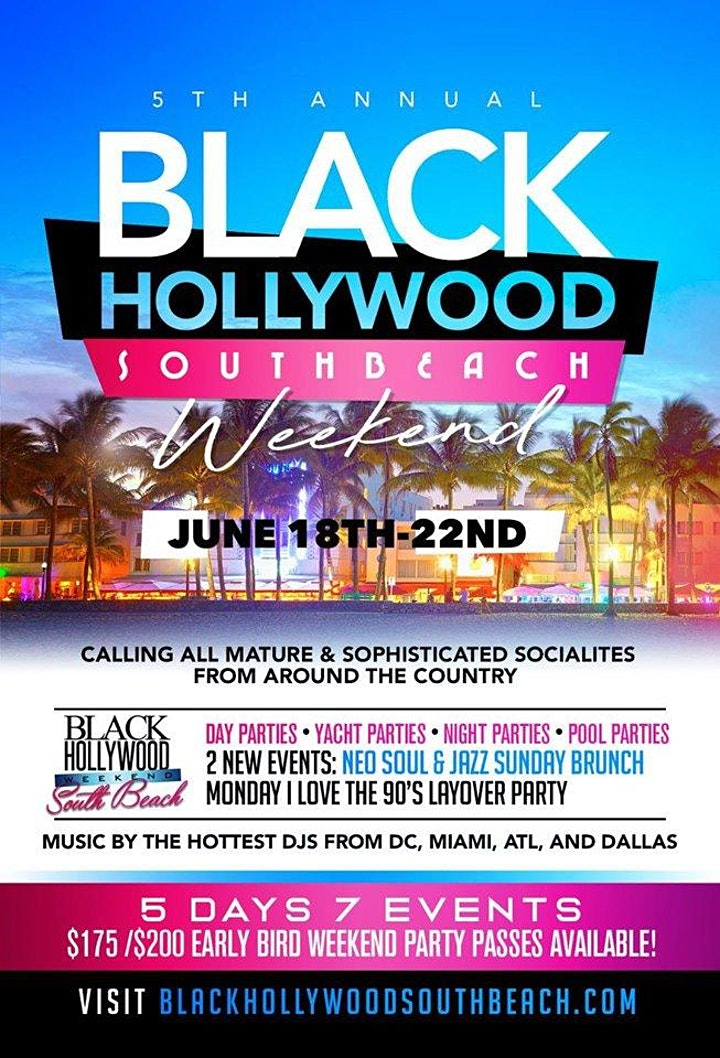 POSTPONED JUNE 2021 THE OFFICIAL BLACK HOLLYWOOD SUNSET DAY PARTY image