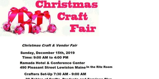 Christmas Craft & Vendor Fair