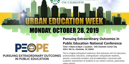 Urban Education Week: Pursuing Extraordinary Outcomes in Public Education