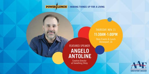 AAFSB Power Lunch & ADDY Theme Reveal: Making Things Up for a Living
