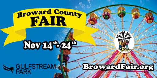 Broward County Youth Fair At Gulfstream Park