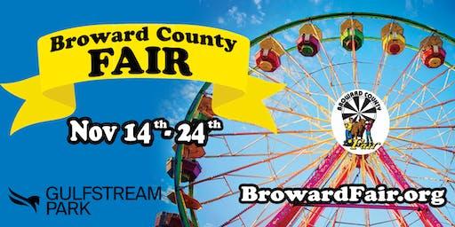 Broward County Youth Fair At Gulfstream Park