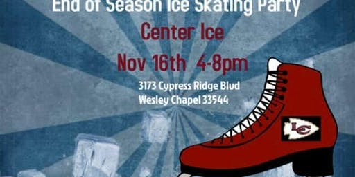 End of Season Ice Skating Party!