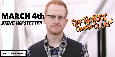 Comedian Steve Hofstetter Live In Naples, FL Off the hook comedy club tickets