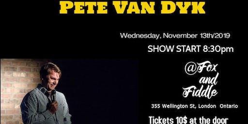 Comedian Pete Van Dyk