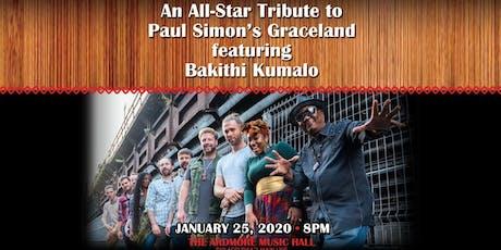 "An Allstar Tribute to Paul Simon's ""Graceland"" ft Bakithi Kumalo tickets"