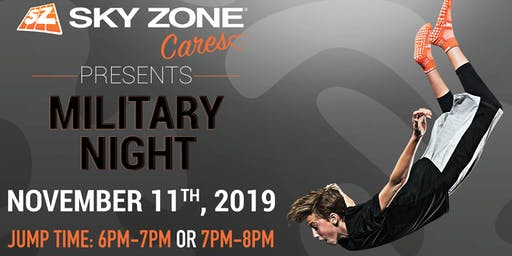 Sky Zone Cares Military Night Indianapolis, IN