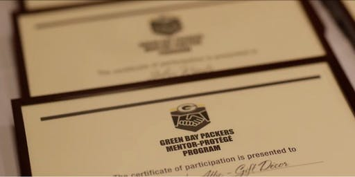 Green Bay Packers' Mentor-Protege Program Free Informational Session