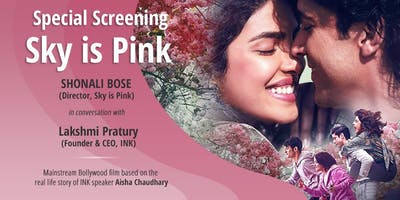 The SKY is PINK Screening and Q&A session with Shonali Bose