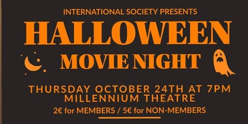 LIT international Halloween Movie Night