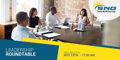 SNG Leadership Roundtable: Part 1