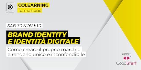 Brand identity e identità digitale biglietti