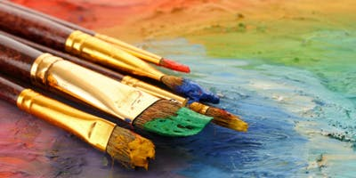 Fine Art Friday: Acrylics for Homeschooling, Seniors, and Families