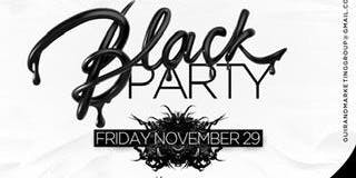 BLACK PARTY( DJ BULLET BIRTHDAY CELEBRATION)