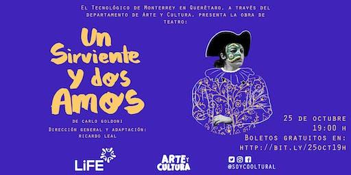 Un Sirviente y Dos Amos - Obra de teatro