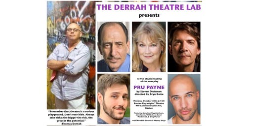 The Derrah Theatre Lab presents PRU PAYNE by Steven Drukman (reading)
