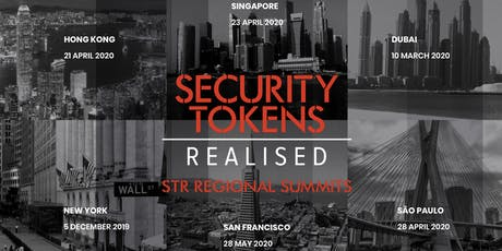 Security Tokens Realised C-Level Summit San Francisco tickets