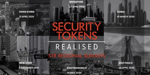 Security Tokens Realised C-Level Summit San Francisco