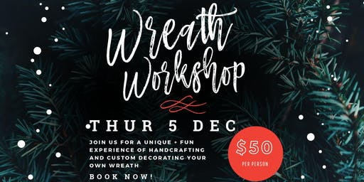 Wreath Workshop ~ Stevens Point