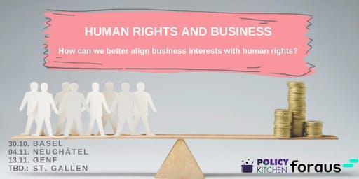 Comment mieux concilier les intérêts économiques et les droits humains?