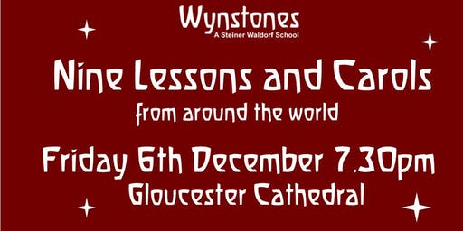 Wynstones Carol Service: Nine Lessons and Carols from around the world