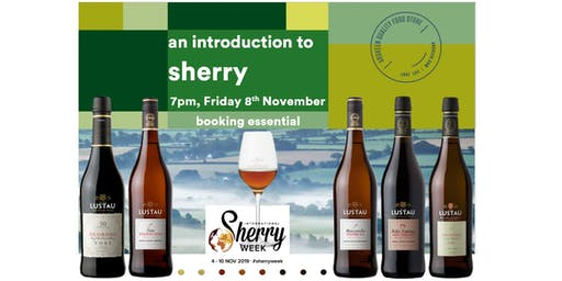 An introduction to Sherry at Ardkeen Quality Food Store