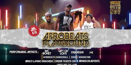 Afrobeats Playground tickets