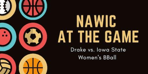 NAWIC - Drake vs. Iowa State Women's BBall Game