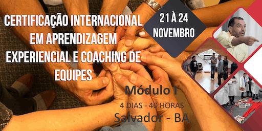 Certificação Internacional, Aprendizagem Experiencial e Coaching de Equipes