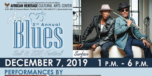 3rd Annual Art, Blues, Soul & BBQ Festival