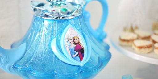 Frozen Tea Party with Elsa