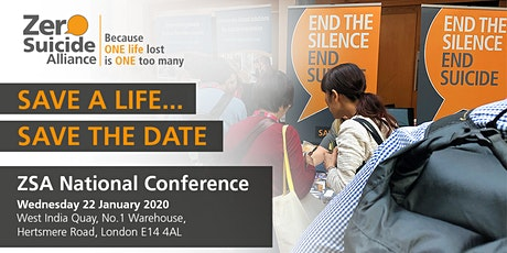 ZSA , Third National Conference - AI and Data in Suicide Prevention tickets