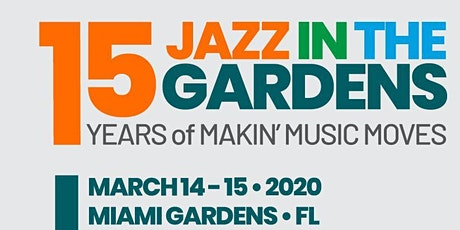 Jazz in the Garden tickets