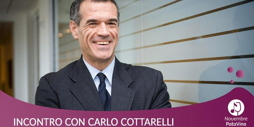 Carlo Cottarelli presenta I sette peccati capitali dell'economia italiana
