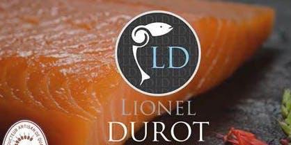 DEGUSTATION SAUMON BIO DE LIONEL DUROT