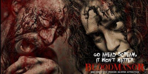 BloodManor 2019 - Thursday, October 24th
