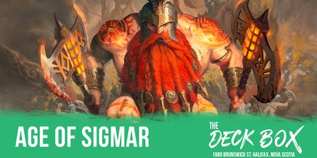 Warhammer Age Of Sigmar League: 600 Points tickets