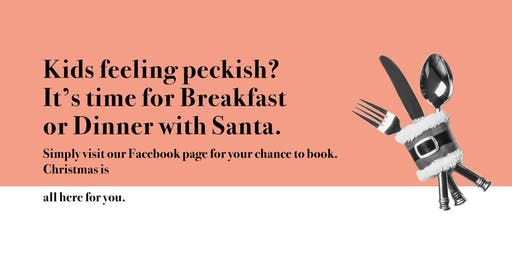 Breakfast with Santa at Limeyard Two Rivers - 14th December