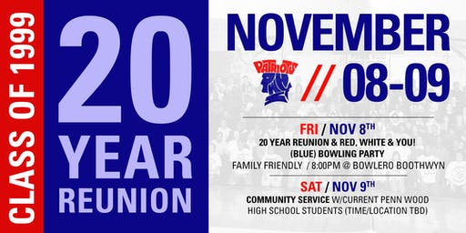 Penn Wood High School - 20 Year Reunion