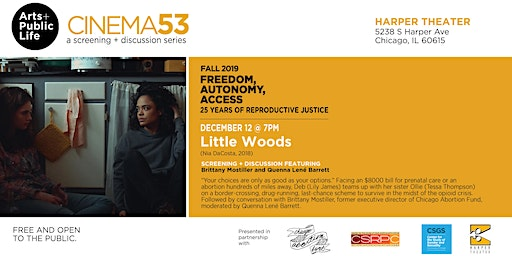 Little Woods: Cinema53 Fall Series Film Screening + Discussion