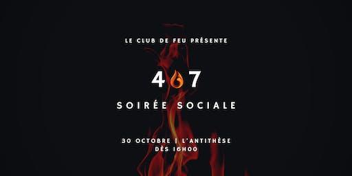 4 à 7: Soirée sociale