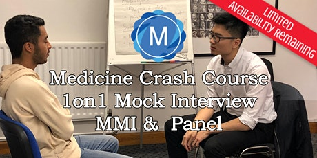 1on1 Medical School Interview Mock Practice - MMI & Panel tickets