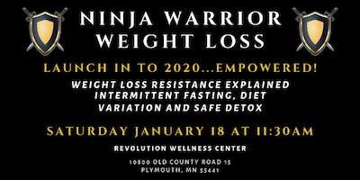Ninja Warrior Weight Loss 2019   January 2020