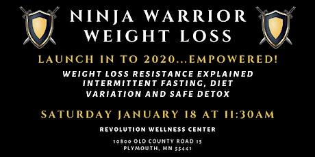 Ninja Warrior Weight Loss 2019 | January 2020 tickets