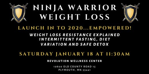 Ninja Warrior Weight Loss 2019 | January 2020