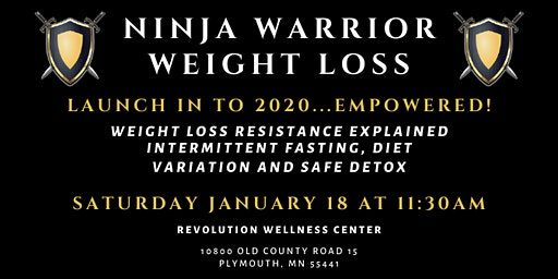 Ninja Warrior Weight Loss 2019 | January 2020