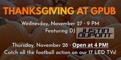 Thanksgiving at GPub
