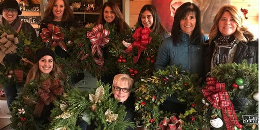 HOLIDAY WREATH WORKSHOPS