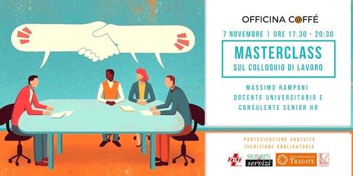 Masterclass gratuita sul colloquio di lavoro