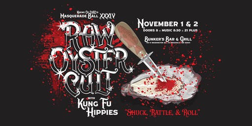 Raw Oyster Cult with Kung Fu Hippies
